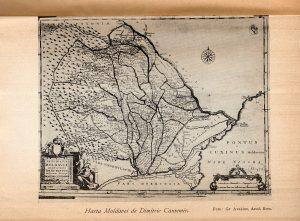 Harta Moldovei de Dimitrie Cantemir