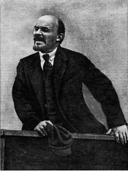 L. Leonidov, V.I. Lenin, Moskva, 1920, fotografie reprodusă în revista Sovetskoe foto, No. 1, 1926;