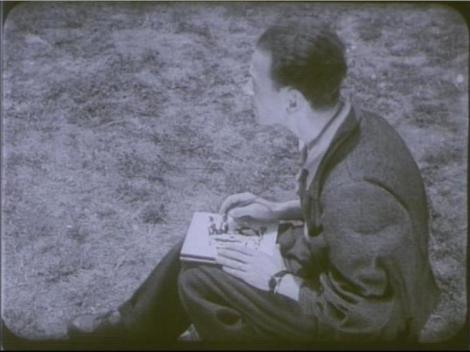 Jules Perahim, imagine din Jurnalul sonor ONC nr. 2 / 1945