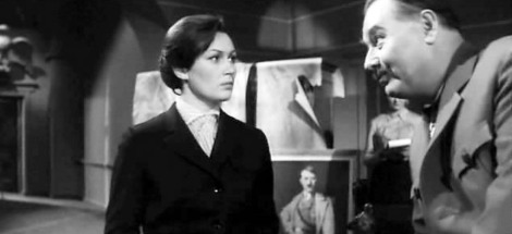 """Nanetta"" (Ekaterina Kurpennikova), imagine din filmul ""Dva goda nad propastiu"" (1966), de Timofei Lefciuk"