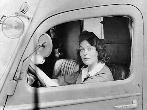 """Jane Horney under beredskapen 1940"", foto: POLFOTO / PRESSENS BILD / SCANPIX"