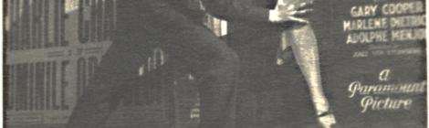Fig. 5: Gherasim Luca, Marlene Dietrich, Amintire din partea noastră, București, 5 iunie 1931. Courtesy of ICARE / Nicolae Tzone