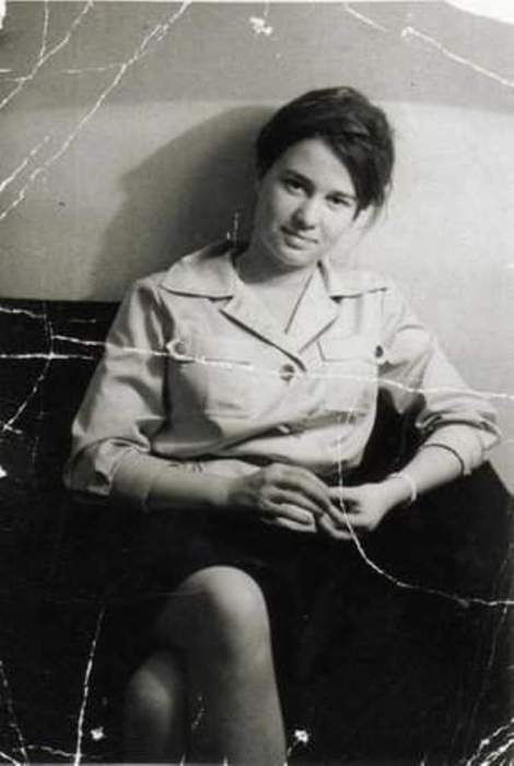 Ulrike Meinhof, German journalist and member of the RAF (Red Army Faction), Private photo, supplied by Ulrike Meinhofs daughter, Bettina Röhl, 1964
