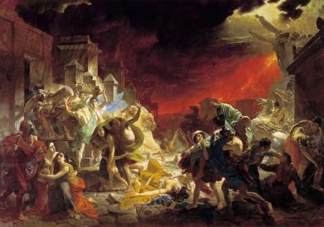 Karl Pavlovici Briullov, Ultima zi a Pompeiului, 1830 - 1833