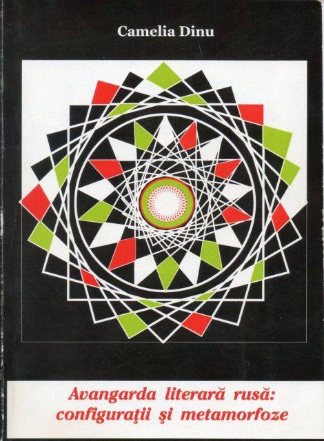 0. coperta cronica de carte Avangarda literara rusa, configuratii si metamorfoze