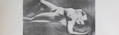 """Man Ray, Primat de la matière sur le pensée (1929) în """"Unu"""", No. 44, aprilie 1932"""