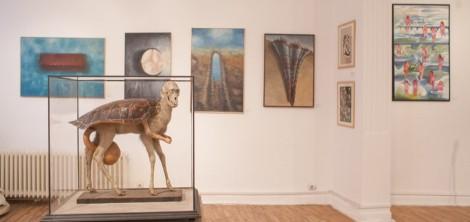 Exhibition view (1). Photo credits Vlad Dumitrescu, Centrul Ceh, 2014 2015.